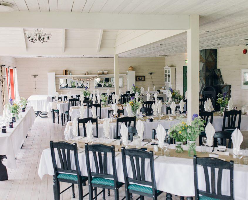 høiland dekka bord bryllup